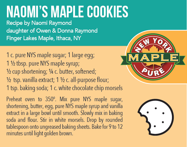 Naomi's Maple Cookies Recipe